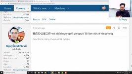 Học tiếng Trung theo chủ đề Bức thư gửi mẹ tiếng Trung ChineMaster