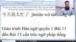 Học tiếng Trung Du lịch theo chủ đề Tại tiệm Salon Thầy Vũ