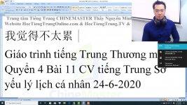 Học tiếng Trung Du lịch theo chủ đề Làm tóc Thầy Vũ