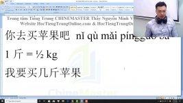 Gõ tiếng Trung SoGou Phiên âm tiếng Trung có dấu bài 10 Thầy Vũ