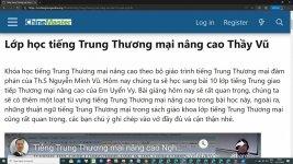 Bản tin tiếng Trung: Hoa Kỳ ủng hộ việc tuân thủ luật pháp quốc tế ở Biển Đông - Diễn đàn học tiếng Trung uy tín ChineMaster Thầy Vũ là kênh chia sẻ tài liệu học tiếng Trung miễn phí tốt nhất hiện nay