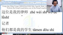 Học tiếng Trung Du lịch theo chủ đề Đồ thất lạc Thầy Vũ