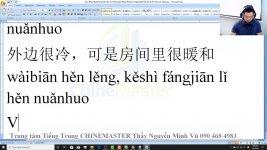 Gõ tiếng Trung SoGou trên máy tính Bài 3
