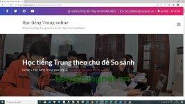 Giáo trình luyện dịch tiếng Trung Bài 1 - Bài tập luyện dịch tiếng Trung ứng dụng thực tế Thầy Vũ - Tài liệu luyện dịch tiếng trung Quốc mỗi ngày ChineMaster