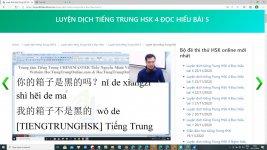 Giáo trình luyện dịch tiếng Trung Bài 2 - Bài tập luyện dịch tiếng Trung ứng dụng Thầy Vũ ChineMaster