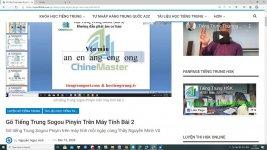 Gõ tiếng Trung SoGou trên máy tính Bài 8 - Tải bộ gõ tiếng Trung sogou pinyin về máy tính - học tiếng Trung qua bộ gõ tiếng Trung sogou pinyin thầy Vũ ChineMaster