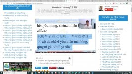 Bộ gõ tiếng Trung Sogou Pinyin Bài giảng số 3 - Download bộ gõ tiếng Trung sogou pinyin mới nhất - Tải bộ gõ tiếng Trung trên máy tính Thầy Vũ ChineMaster