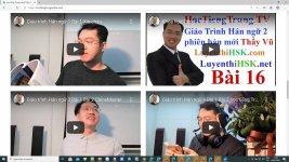 Tài liệu luyện dịch tiếng Trung ứng dụng Bài tập 5 - Thi thử HSK online miễn phí Thầy Vũ ChineMaster