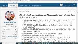 Tài liệu luyện dịch tiếng Trung ứng dụng Bài tập 6 - Bài tập luyện dịch tiếng Trung HSK ứng dụng thực tế - Thi thử HSK online miễn phí Thầy Vũ ChineMaster