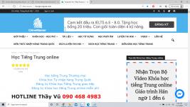 Học tiếng Trung theo chủ đề Hỏa hoạn trung tâm tiếng Trung Thầy Vũ