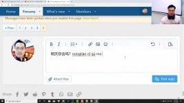 Học tiếng Trung theo chủ đề Đàm thoại thông dụng ChineMaster Thầy Vũ
