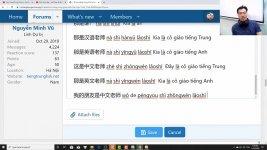 Học tiếng Trung theo chủ đề Ăn uống