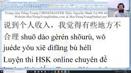 Học tiếng Trung theo chủ đề Công việc bán thời gian ChineMaster