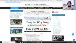 Học tiếng Trung theo chủ đề Giao lưu ngôn ngữ